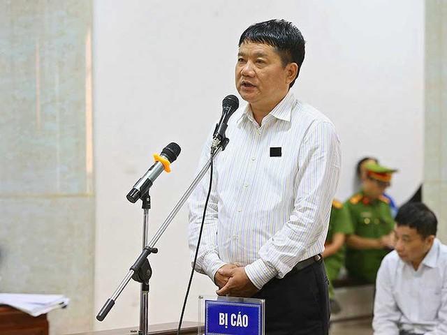 Bị cáo Đinh La Thăng tại tòa. (ảnh: TTX)