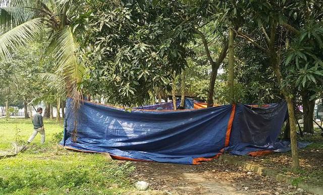 Nghệ An: Người đàn ông tử vong bất thường trong công viên