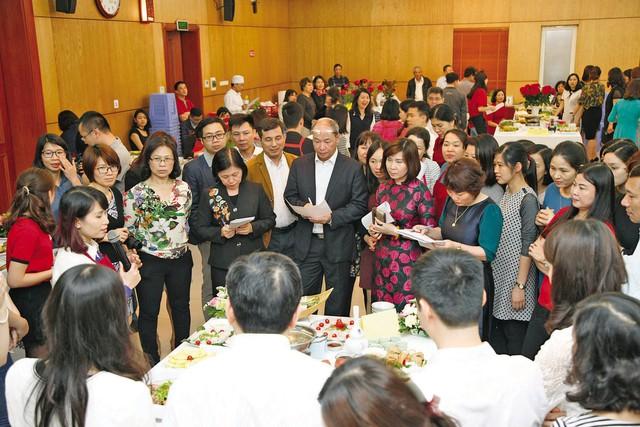 Công đoàn Tổng cục DS-KHHGĐ tổ chức liên hoan ẩm thực