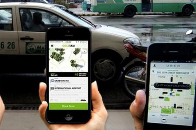 Bộ Công Thương công bố kết quả điều tra vụ Grab mua lại Uber. Ảnh TL