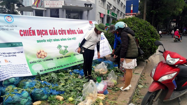 """Bao giờ hết cảnh """"giải cứu"""" nông sản Việt Nam?"""