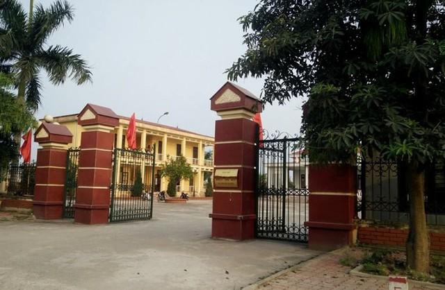 Trụ sở UBND xã Trung Nghĩa, nơi ông Thụy công tác. Ảnh: CTV