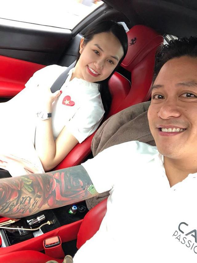 Tuấn Hưng chở vợ trên siêu xe 15 tỷ phượt cùng hội mê tốc độ của Cường Đô La