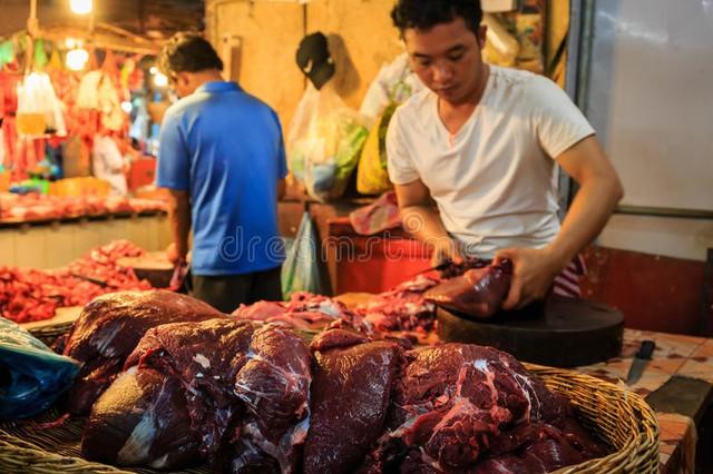 Thịt bò địa phương rẻ gấp hàng chục lần
