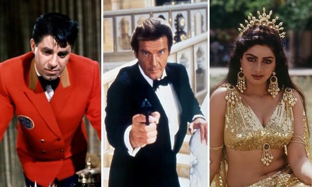 3 trong số các nghệ sĩ quá cố được tưởng nhớ là Jerry Lewis, Roger Moore và nữ diễn viên Ấn Độ Sridev.