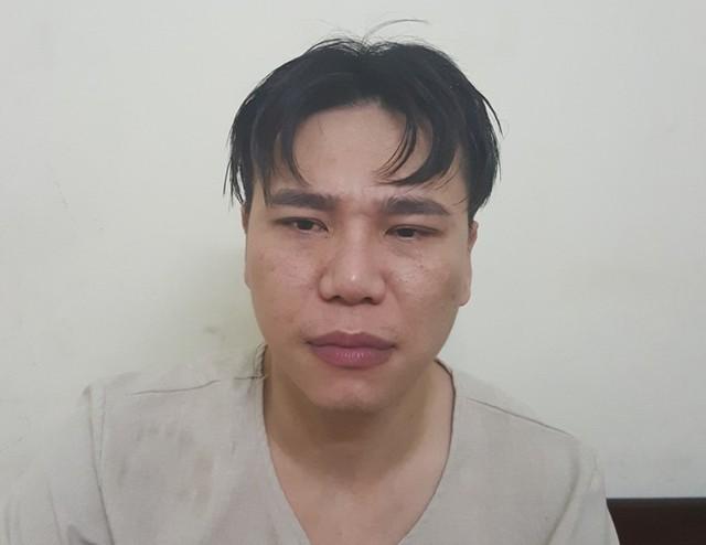 Ca sĩ Châu Việt Cường sau khi xảy ra vụ việc.