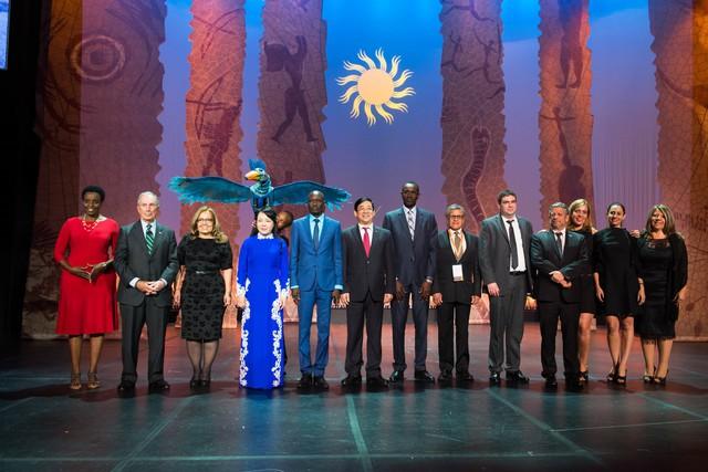 Hội nghị có sự tham gia của trên 100 quốc gia với hơn 2000 đại biểu.