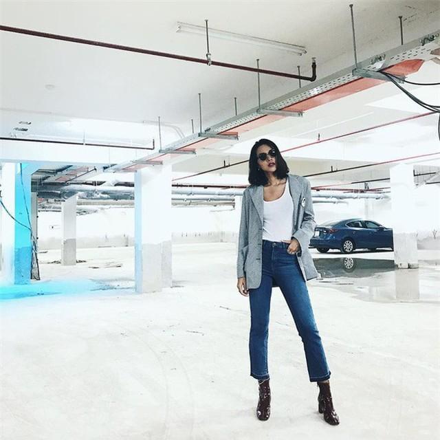 Tìm kiếm gợi ý diện đồ công sở từ chính phong cách của các người đẹp Việt - Ảnh 13.