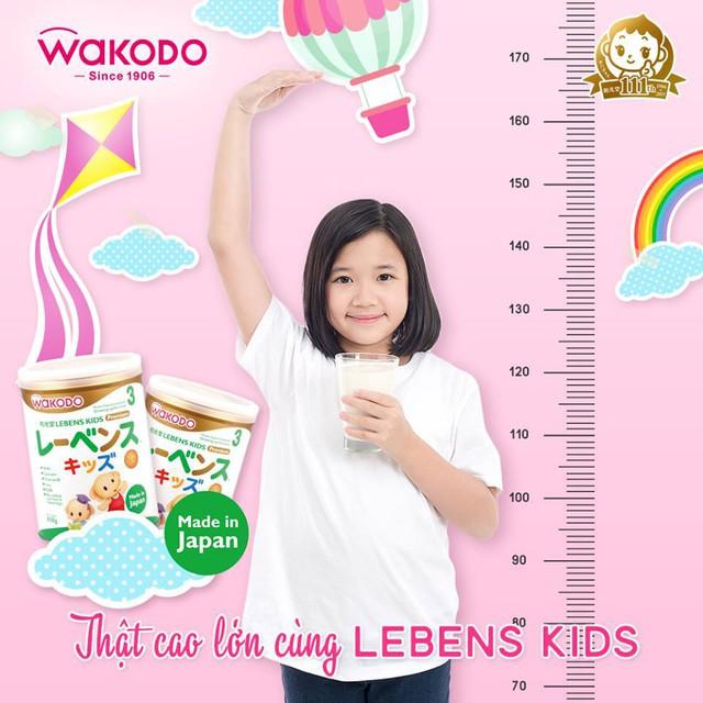Wakodo – sữa Nhật bổ sung omega 3, canxi…tăng chiều cao cho bé từ 3 tuổi