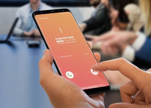 Công cụ Smart Call của điện thoại Samsung - Ảnh: SAMSUNG