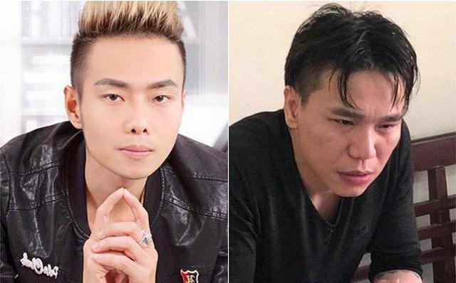 Ca sĩ Nam Khang (trái) chia sẻ về mối quan hệ giữa ca sĩChâu Việt Cường(phải) và Đỗ Phượng Anh.