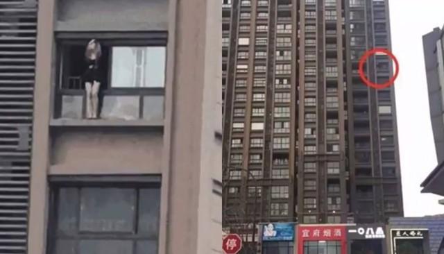 Nữ nghệ sĩ trẻ quyên sinh bằng cách ôm chó nhảy từ tầng 8 một tòa nhà.