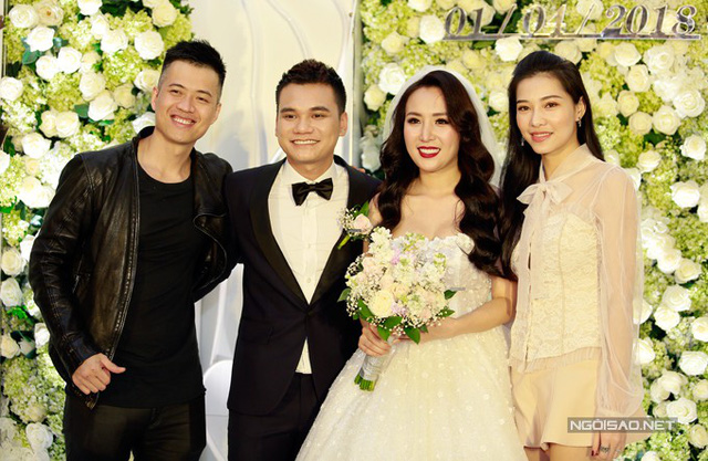Vợ chồng Tuấn Hưng, Quế Vân và dàn sao dự đám cưới Khắc Việt