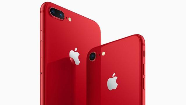 iPhone 8, 8 Plus có thêm màu mới. Ảnh: Apple.