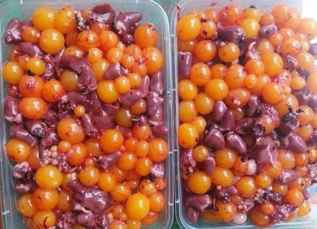 Trứng gà non đang được rao bán tràn lan trên mạng với giá 350.000 đồng/kg