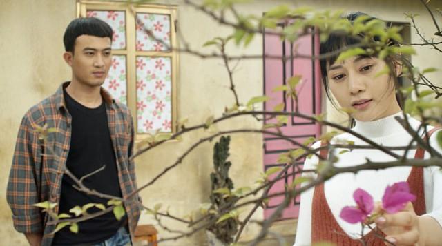Tạo hình của Phương Oanh trong phim mới.