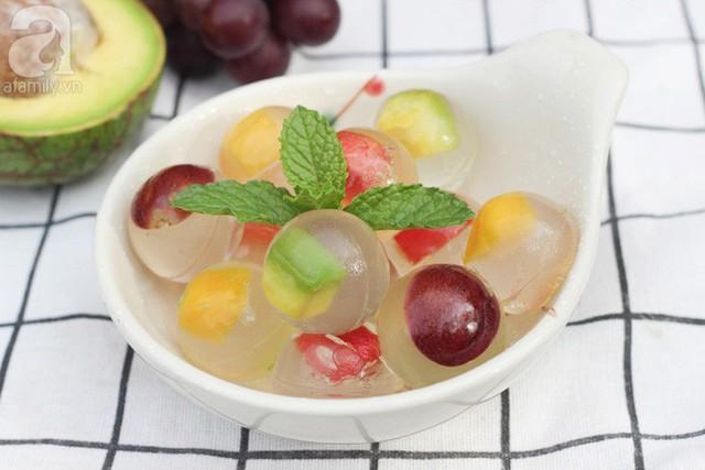 """Công thức thạch trái cây khiến người """"không hảo ngọt"""" cũng phải mê"""
