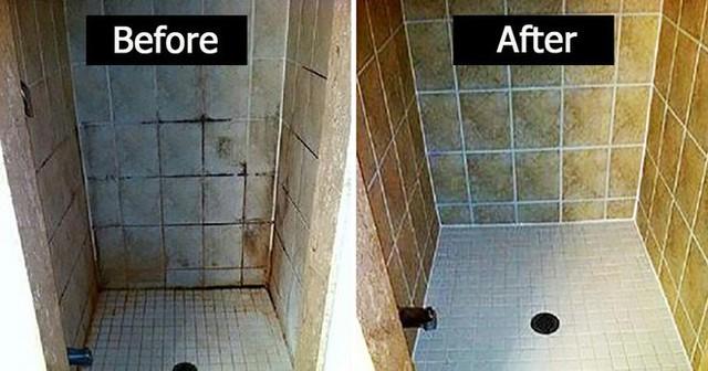 Bạn sẽ thấy rằng chuyện cọ rửa chỉ là chuyện muỗi, loáng một cái nhà tắm, nhà vệ sinh đã sạch sẽ như mới rồi. (Ảnh: Internet)