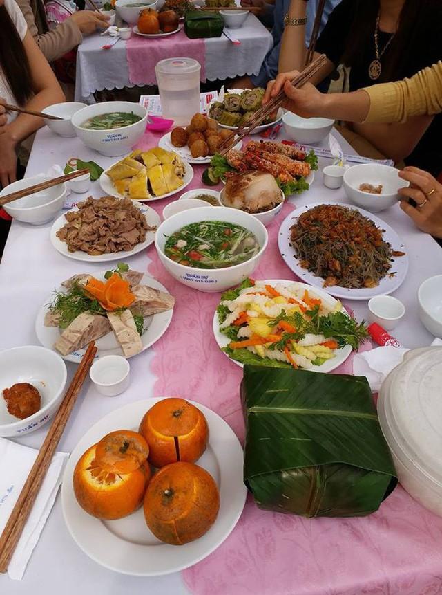 Mướp đắng nhồi thịt - món ăn chỉ có ở mâm cỗ Thái Nguyên quê em, nói thế có chính xác không các mẹ?. Ảnh: T.M