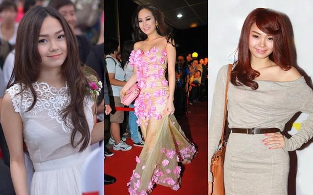 Năm 2011, Minh Hằng thay đổi sang hình ảnh nữ tính, chững chạc hơn. Tuy vậy, gout thời trang của cô vẫn bị đánh giá là lòe loẹt