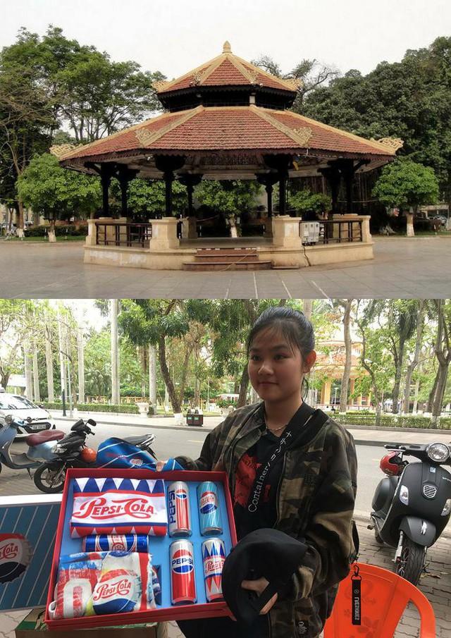 1 trong 10 công trình kiến trúc bát giác nổi tiếng nhất Việt Nam và bạn Vân cùng phần quà đến từ Pepsi