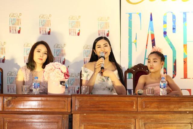 Hoa hậu Ngọc Hân là Giám khảo casting model của EFW
