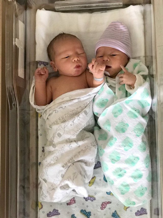 Con của Justin và Joshua Thorington. (Ảnh: people)