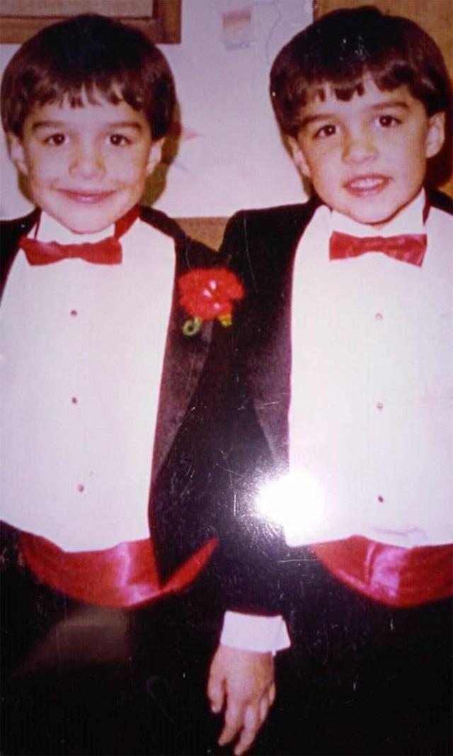 Justin và Joshua Thorington khi còn bé. (Ảnh: people)