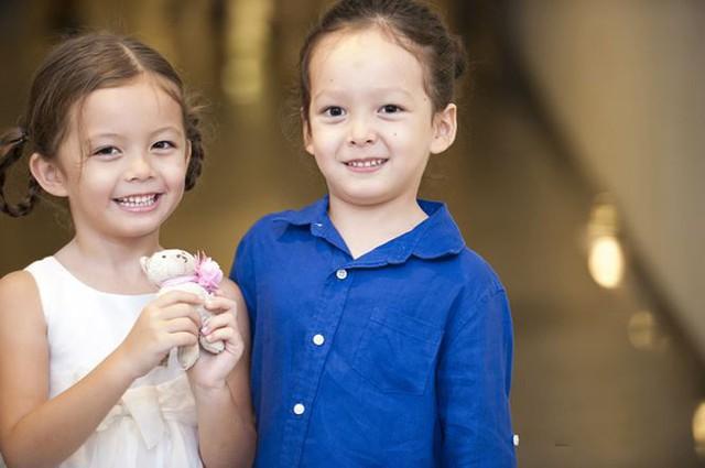 Hiện tại, hai thiên thần của Hồng Nhung năm nay đã 6 tuổi.