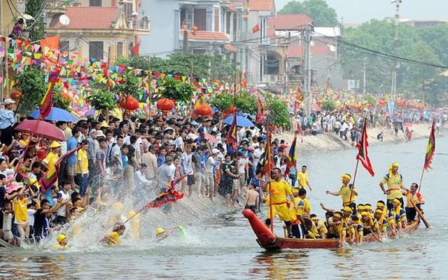 Bơi Đăm là lễ hội truyền thống ở phường Tây Tựu (quận Bắc Từ Liêm, Hà Nội)