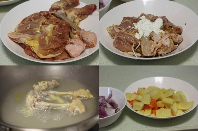 Món ngon cuối tuần: Cơm gà cà ri