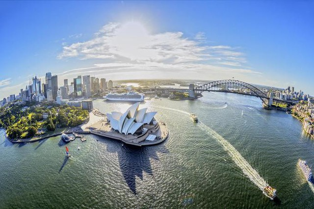 5. Houston, Mỹ tới Sydney, Australia (United Airlines)