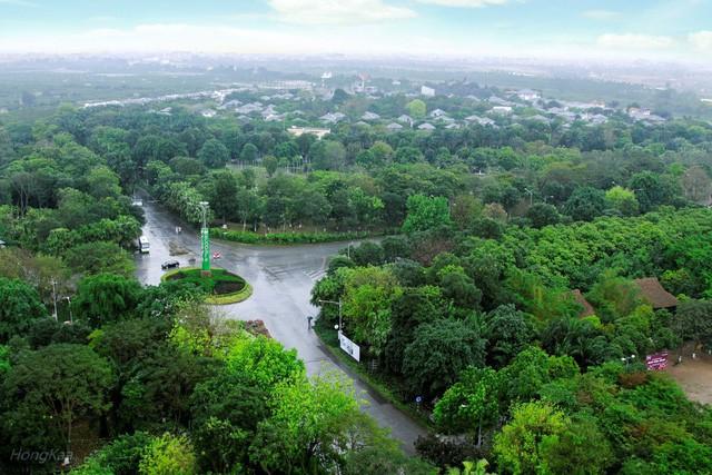 Ecopark là một thành phố đa chức năng tràn ngập màu xanh.