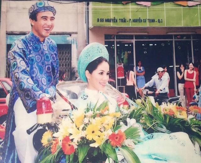 Đám cưới của Quyền Linh và Dạ Thảo khi xưa.