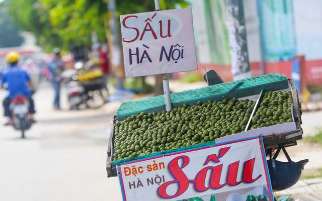 Còn vào khoảng tháng 6 đến tháng 8, trên vỉa hè đường Cộng Hòa, Phan Văn Trị... lại có nhiều xe bán sấu - loại quả chỉ có thể trồng được ở miền Bắc.