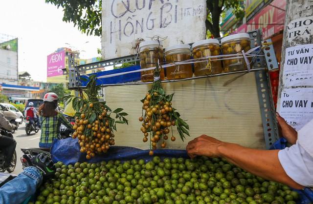 Ngoài ra, nhiều người bán còn ngâm sẵn nước sấu và bán với giá khoảng 150.000 đồng một lọ. Bên cạnh đó, những xe bán sấu còn bán thêm trái quất hồng bì, loại trái cây cũng chỉ có ở miền Bắc.