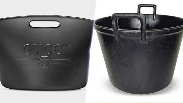 Sốc với chiếc túi xách hiệu Gucci trông chẳng khác gì xô đựng giẻ lau nhà của các bà nội trợ Việt
