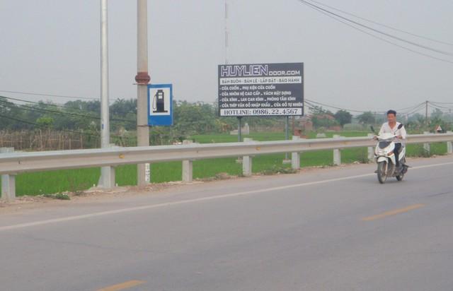 Khu vực cây xăng Đại Đồng - nơi T bị đánh tử vong.