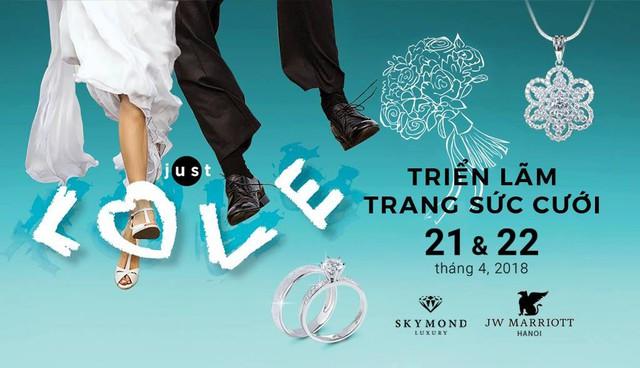 Đặc biệt, năm 2018 là năm đầu tiên JW Marriott Hanoi mang đến cho triển lãm cưới một không gian ngoài trời thơ mộng với nhiều màn trình diễn nghệ thuật đặc sắc đến từ các thương hiệu dịch vụ cưới nổi tiếng.