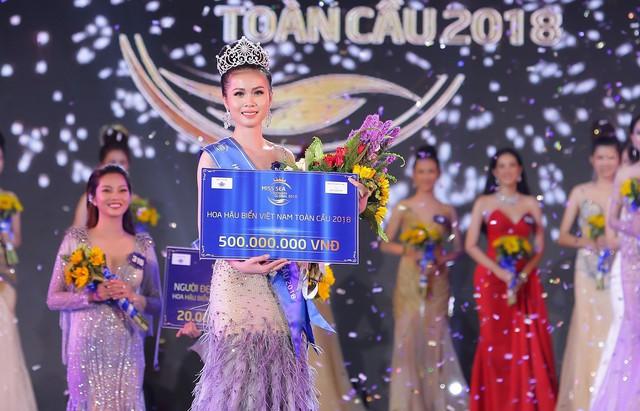 Tân Hoa hậu Biển 2018 Kim Ngọc.