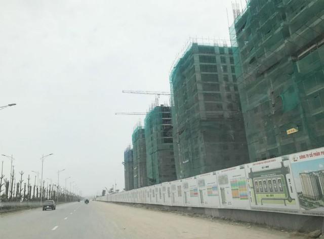 Giá đất mặt đường khoảng 40-50 triệu đồng/m2
