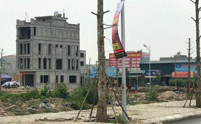 Một số khu vực người dân đã bắt đầu xây nhà để kinh doanh