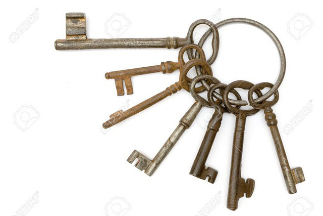Chiếc vòng trên trông có khác gì chiếc vòng đựng chìa khóa thông thường mà chúng ta vẫn dùng.