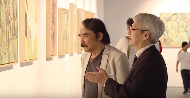 """Xem triển lãm tranh của họa sĩ được coi là """"Van Gogh của Việt Nam"""""""
