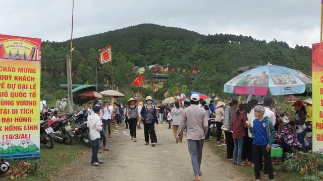 """Hà Tĩnh: Mừng Đại lễ """"Giỗ Quốc tổ Hùng Vương"""" tại Khu di tích lịch sử Đại Hùng"""