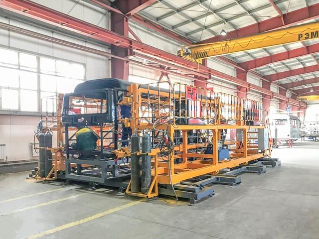Main Jig được lắp ráp hoàn thiện tại thành phố Almty, Kazakhstan.