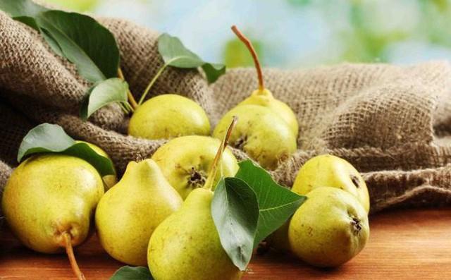 Tiêu thụ những loại thực phẩm nhiều chất xơ như lê là cách đơn giản để hạn chế tình trạng viêm nhiễm.