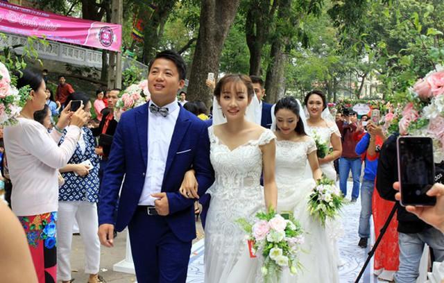 Một đám cưới hiện đại cần sang trọng, giữ được các giá trị cốt lõi đi kèm với sự tiết kiệm phù hợp. Ảnh: Tuổi trẻ Thủ đô