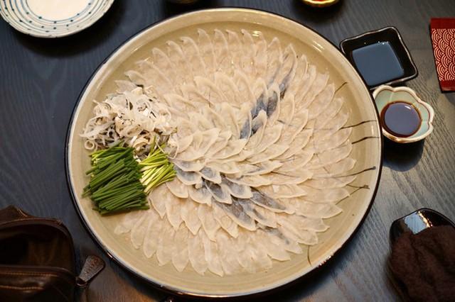 Các đầu bếp được cấp phép mới được chế biến món ăn này.