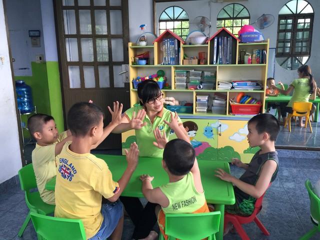 Giáo dục hòa nhập cho trẻ tự kỷ và các rối loạn liên quan tại Trung tâm Tự kỷ Hoàng Đức (Đồng Nai). Ảnh: T.V